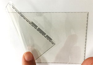 Flexible touch-screen sensor